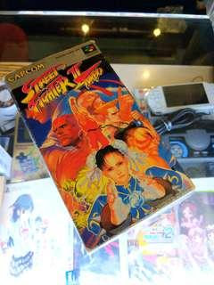 SFC STREET FIGHTER II TURBO