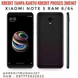 Kredit Xiaomi Note 5 Ram 6/64 Hanya 3Menit Tanpa Kartu Kredit