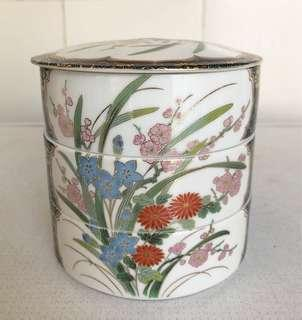 Antique Chinese 3-in-1 Decorative Bowl