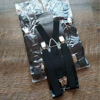 $8 each adult X suspenders for sale black