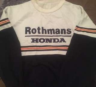 Rothmans HONDA sweater