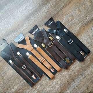 $8 each adult PU suspenders