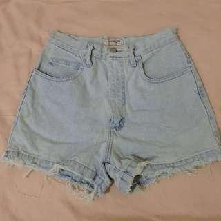 Guess denim highwaist shorts