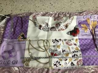 Gucci scarf authentic