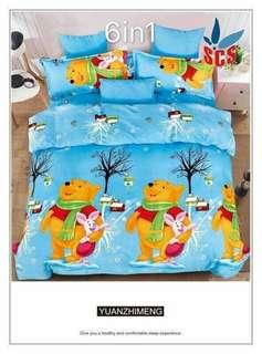 6in1 bedsheets us cotton