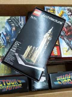 21013 Lego architecture Big Ben