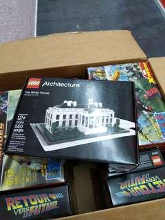 21006 Lego The White House Architecture brand new