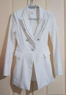 White Coat Sz S