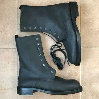 CoSTUME HOMME by GUARDI leather boots Italy