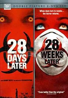 28 Days Later / 28 weeks Later 2 movies box set DVD