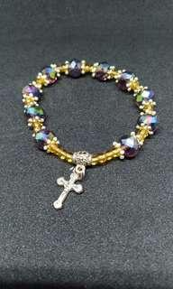 Bracelet with Cross chain