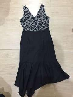 Dress mewah brokat