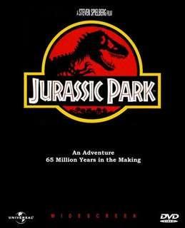 Jurassic Park China Version DVD
