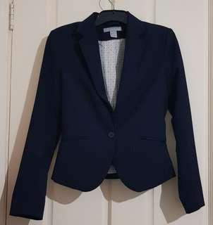 Navy Blue Blazer Sz4