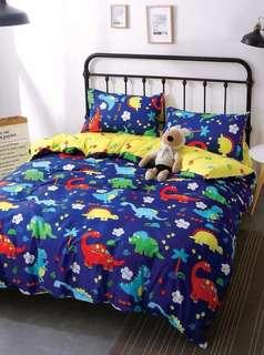 Instock CARTOON BEDSHEET FITTED SET 889 thread count