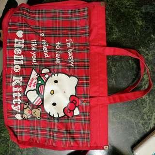 絕版 1992 Hello Kitty 手提袋 畫袋 懷舊 罕有 90s