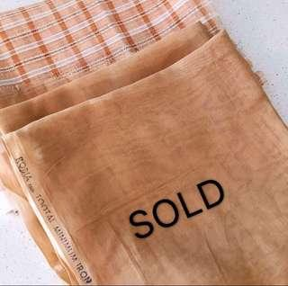 Authentic vintage TOOTAL ROBIA fabric for Kebayas