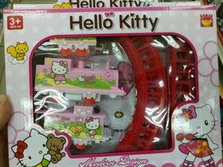 Hello Kitty toy train