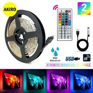 AKIRO USB LED STRIPE 5050 RGB (2M)