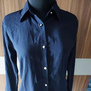 Dark Blue Shirt