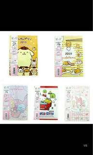 [PO] Sanrio Character A6 Datebook
