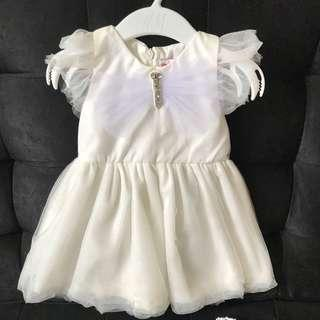 Peppermint Baptismal Dress