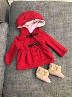 Carter jacket + baby boot
