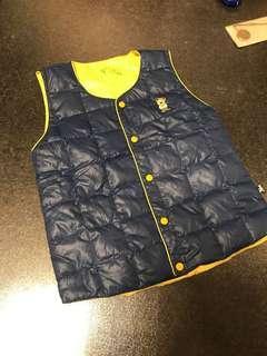 7Y 羽絨 保暖 打底 冬天 小童 外套 背心 kids down jacket vest coat