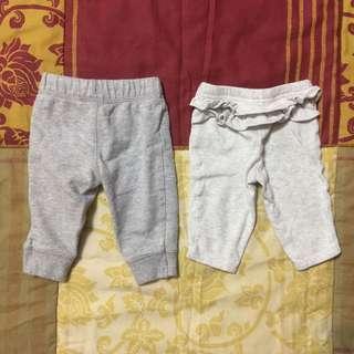 Carter's & Koalababy gray pants! (TAKE ALL!)