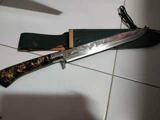 Hattori Japanese Hunting Knife, with dragon motif