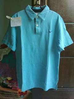 Nike Polo Shirt Light Blue