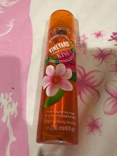 Bath & body works body mist