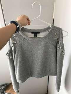 Forever 21 grey jumper