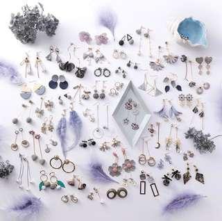 ulzzang earrings 🌿