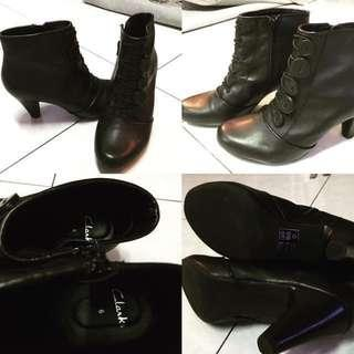 Pre loved Clark's Boots
