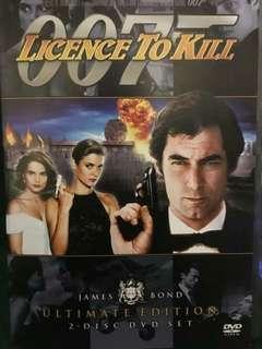 Licence To Kill DVD