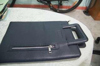 Original HBO Dark Blue leather folder (new)