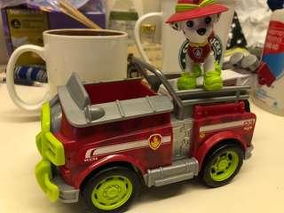 Paw Patrol Marshall Jungle Truck