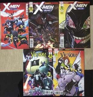Marvel Comics: Poison X (Complete) Featuring X Men & Venom