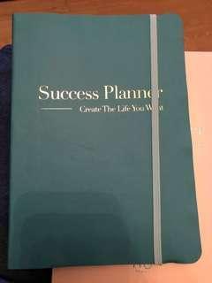 Success planner notebook