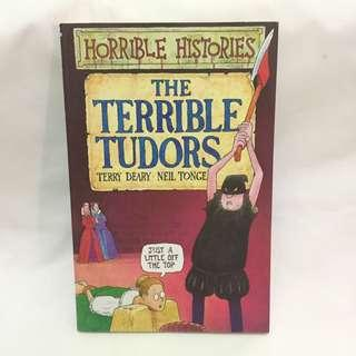 Horrible Histories The Terrible Tudors - Terry Deary-Good Condition