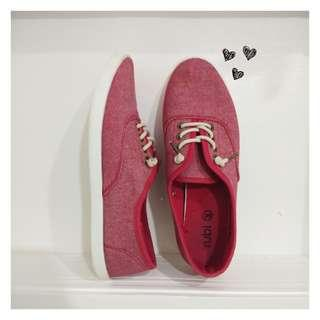 Cotton On Rubi JoJo Plimsolls (Red)