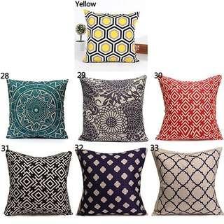 Vintage Geometric Cushion Cover Buy 6 Free 1