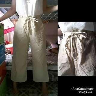 Nude adjustable pants S-L