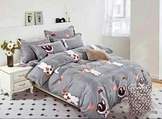 Fitted bedsheets - Cat & Dog