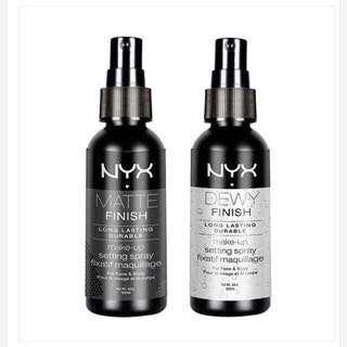 Setting spray NYX