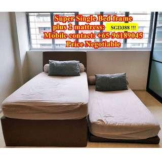 Super Single Bed (2 single bed) going at SGD388 !!!