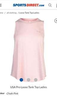 Brand new USA pro pink tank top