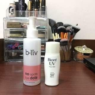 Skincare Combo (bliv & Biore)