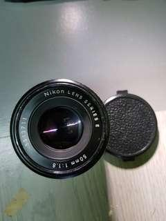 Nikon Series E 50mm f1.8 (Pancake)